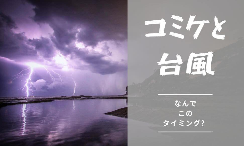 夏コミケC96の台風の影響はゼロ。コミケパワーのジンクスは存在した